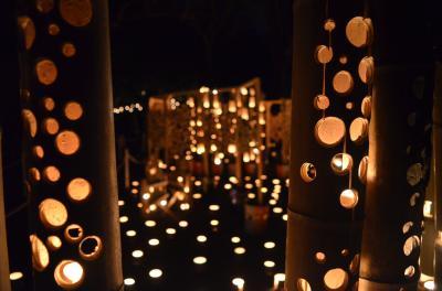 建功寺 萬燈除夜の鐘