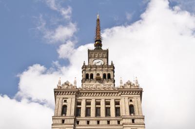 83. 2015年 遅めの夏休み ポーランド他12日間 Day-9 文化科学宮殿に登る。