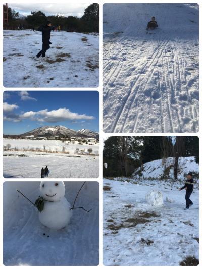 冬の蒜山休暇村