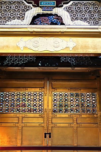 上野新春2/3 東照宮 (社殿・唐門・透塀など) 修復完了 ☆極彩色の装飾/細密な描写