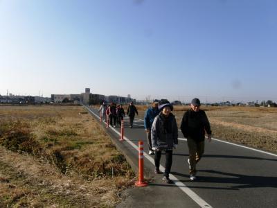 2017年最初の歩こう会でのウォーキングは武蔵国鷲宮神社へ初詣