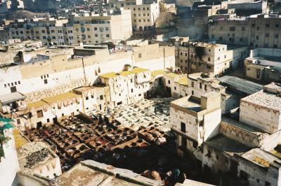 友人と元日に海外で待ち合わせ、1998~99年=1(モロッコ)