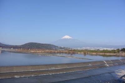自転車でGO! 2017.01.04 富士山を見ながら…