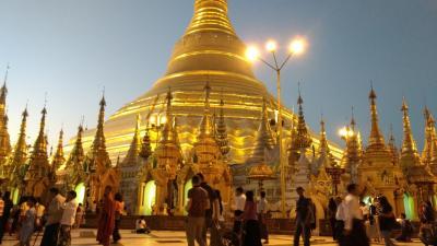 ミャンマー1人旅  1日目(出発~ヤンゴン観光)