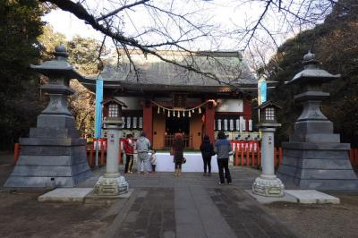 息栖神社に初詣 [2017](1)