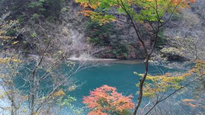 紅葉の寸又峡!美しいブルーと美女づくりの湯で癒される