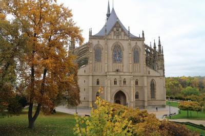 チェコの世界遺産をぐるっと車で巡る旅 その2 そこそこホラーなクトナー・ホラ