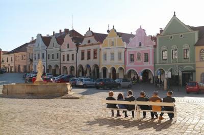 チェコの世界遺産をぐるっと車で巡る旅 その9 珠玉の町テルチ