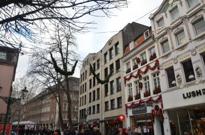 年末年始 のんびりドイツ滞在記 -3 デュッセルドルフ日帰り観光