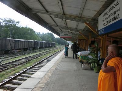 Wonder of Asia - 光り輝くスリランカで年越し! #7 スリランカ鉄道の旅(ポロンナルワ→コロンボ)、+αでバワ建築