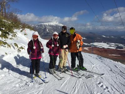 小学生の双子と行くスキー旅行記
