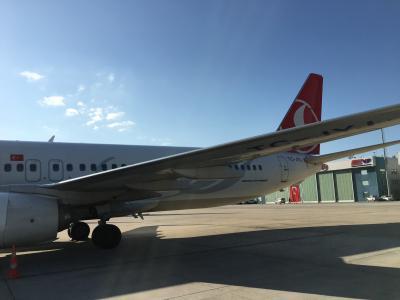 ダルエスサラーム発、一時帰国編:トルコ航空イスタンブール経由