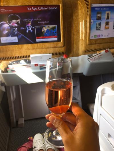エミレーツ航空 ビジネスクラス セーシェル>>ドバイ