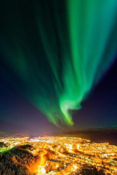 オーロラを見にノルウェーに行く1