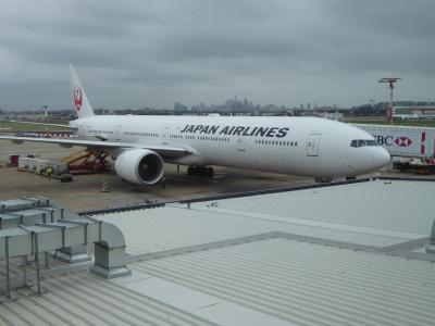 東京⇔シドニー、JALビジネス便往復