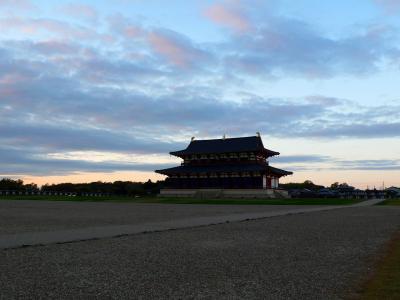 奈良を歩く -2016秋-  手はじめに奈良駅→平城京
