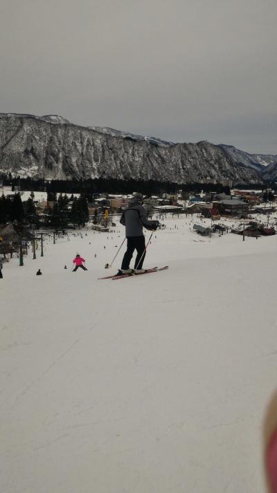 2016-2017年シーズン初スキーは、念願かなって息子とゲレンデ滑走☆in湯沢