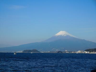 2017年初旅・富士山を見に西伊豆へ