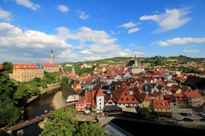 チェコ&オーストリア 4都市周遊 3日目: フォトジェニックな街 チェスキークルムロフ
