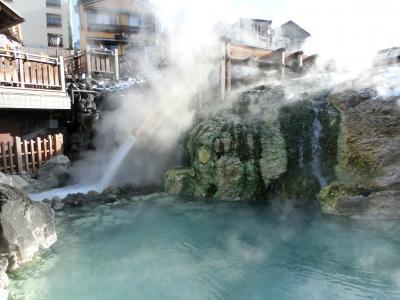 草津温泉へ その2 草津温泉街を満喫!! まずは湯畑に行ってお昼を戴きます。