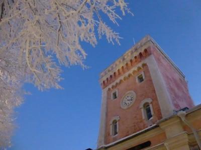ヘルシンキのスオメンリンナ島で今季最大の寒気に遭遇