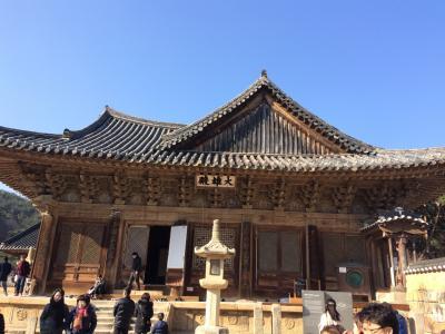 2016年大晦日・通度寺と蔚山の旅。