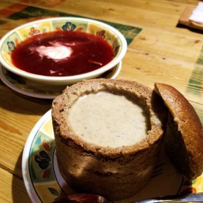 【5】伝統料理ツェペリナイの大きさに目が点(リトアニア:ビリニュス)☆バルト三国10日間