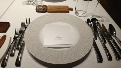 長野2泊3日 旧軽井沢ホテル Le Signeのディナーを食べに行く