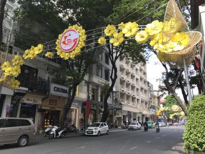ベトナムで年越し 2016-2017 (1) ホーチミン到着