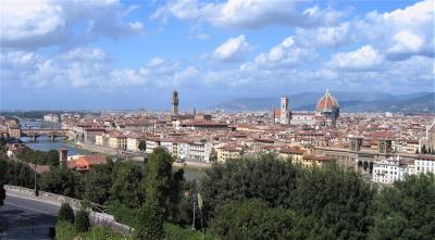 フィレンツェ全景ーミケランジェロ広場からー(2007年)再編集