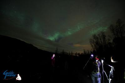 ノルウェー北極圏のトロムソでオーロラチェイサー!!