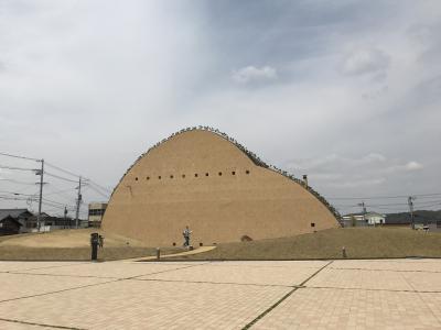 何とも言えないフォルムにホッコリ(^:^)モザイクタイル・ミュージアム(旧笠原町)にてワンコイン工作