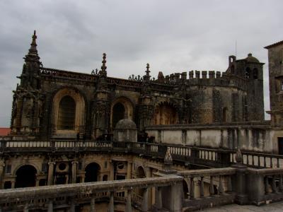 還暦夫婦17日間フランスポルトガル年越しの旅(その7)トマール、ポルトガルで一番大きい修道院が良かった