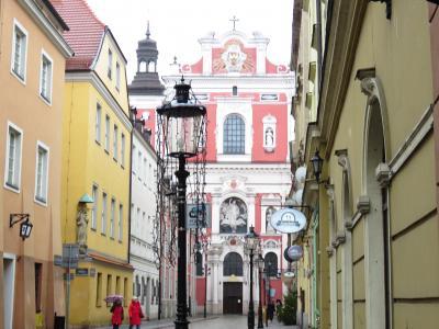 今月(1月)の旅行は、ポーランド・トルンからボズナンとヴロツワフへ