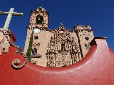 2017新春のメキシコ その5~銀で栄えたグアナファト。その前にバレンシアーナの銀鉱山へ