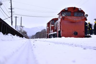 冬の北海道、道北地方を巡る旅 ~宗谷本線の定期排雪列車(宗谷ラッセル)を追いかけて@天塩中川、和寒 (2017年度版)~