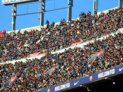 FCバルセロナ ラ・リーガ カンプノウ・スタジアム観戦 2017年1月14日 対UDラスパルマス