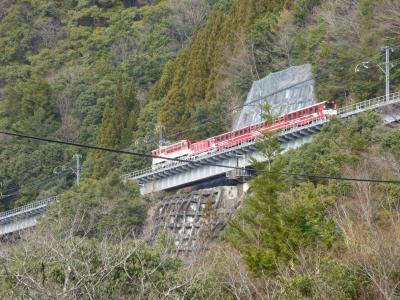 大井川鐵道沿線と南アルプスあぷとラインの冬旅