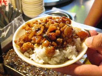 【台北】滷肉飯(ルーローハン)