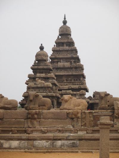 南西インドの旅 (21)                   マハーバリプラムを観光する①。