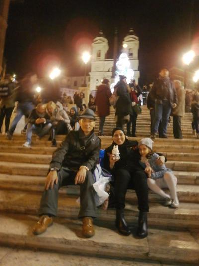 エミレーツA380スカイクルージングへのいざない 聖なる都市ローマとバチカンを巡る1泊4日の旅 その3 夕方から夜まで駆け足で巡るムロたんのローマ散歩