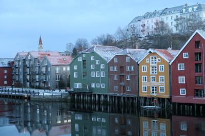 北欧オーロラの船旅②トロンハイムから北極圏の海へ!