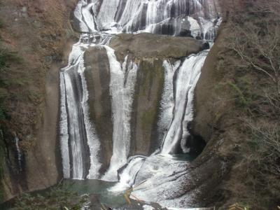 寝不足状態での袋田の滝