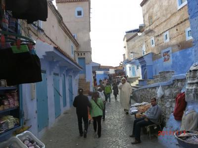 初アフリカはモロッコ6泊周遊ツアー(No2. シャウエン)