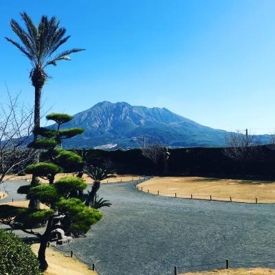 鹿児島霧島温泉と桜島 一泊二日