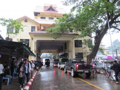 ミャンマー 「行った所・見た所」 タイレイのザニッチホテル宿泊と国境付近散策