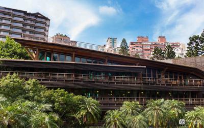 【台北】一番美しい図書館:北投図書館
