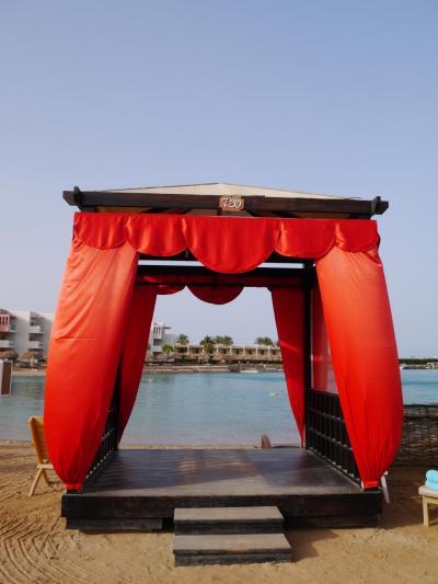 AA航空の特典航空券使って ビジネスクラスやけどバックパッカー・エジプト旅⑦ 紅海リゾートのハルガダでなんちゃってセレブステイ