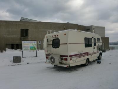 極寒の北海道サバイバル訓練(犬とともに)のついでに、道の駅グルメイベントに・・・
