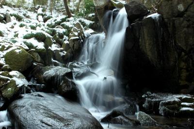 ◆みちのく最南端・氷雪の滝川渓谷②&湯岐雷滝